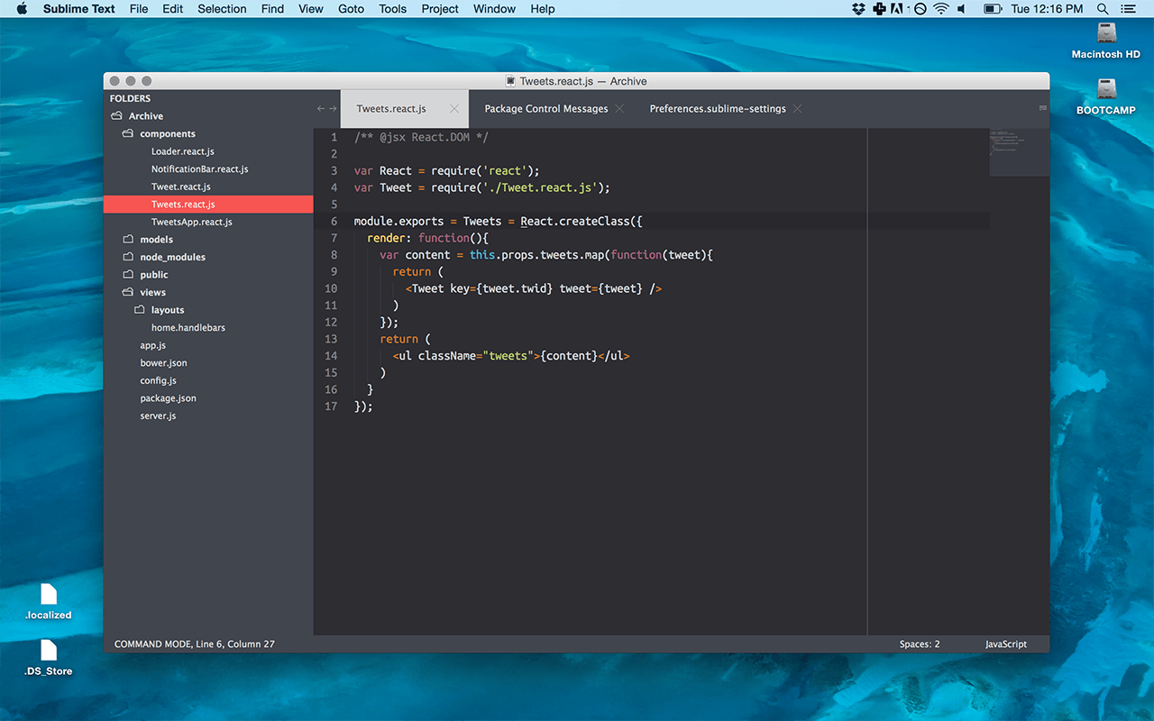 Тема для Sublime Text ITG.Flat